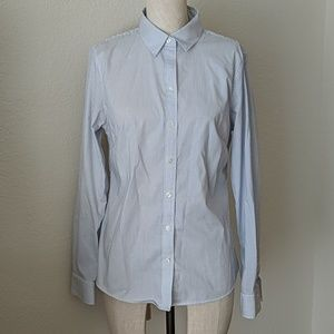 Banana Republic Tailored-Fit Pinstripe Button-Up